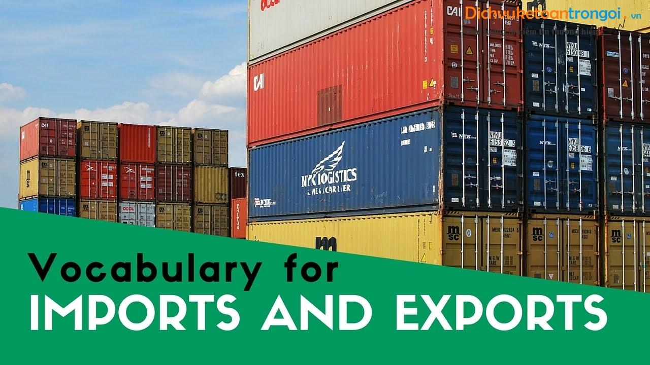 kế toán xuất nhập khẩu